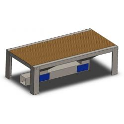 Abrasive Extraction Tables